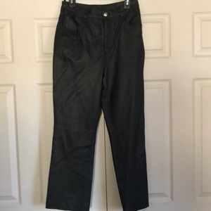 Newport News size 10 leather pants